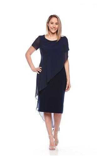 Eve Hunter Navy Dress